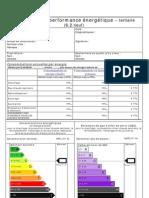 INF Diagnostic de Performance Energétique (DPE) modèle