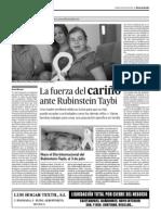 La fuerza del CARIÑO ante Rubinstein Taybi