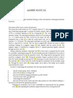 AnMBR Manual