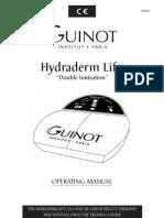 Hydra Lift Operating Manual