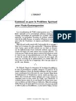 Esprit 2 - 19321101 -  Lacombe, Olivier - Comment se pose le problème spirituel pour l'Inde contemporaine