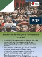 Humanizar La Acogida a La Persona Inmigrante