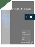 Street Children Issues