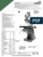 Bridgeport Series1 Spec Sheet