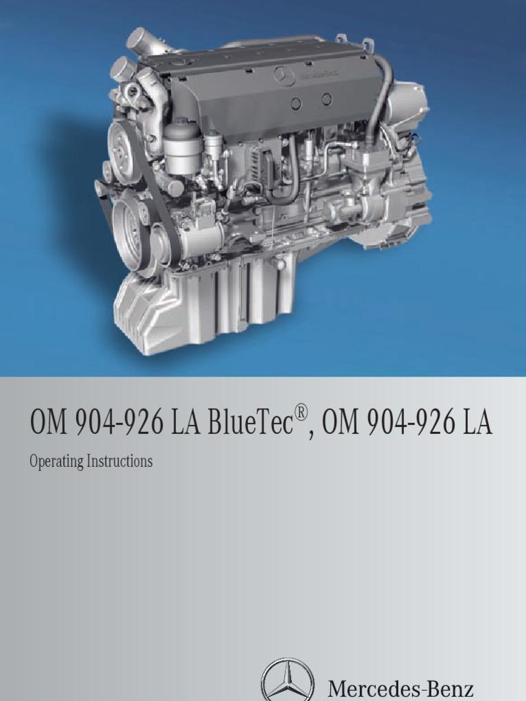 a926 584 06 81 ba om904 926la en gb 06 11 diesel engine fuel rh scribd com Training Manual Template for Word Training Guide
