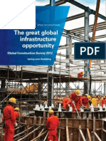 Global Construction Survey 2012