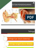 THT Anatomi Dan Fisiologi Pendengaran