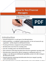 Finance for Non-Financial Manager