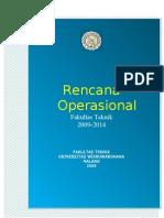 Cover Renop Ft Univ.wisnuwardhana Malang 2009 2014