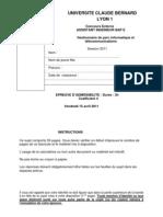 Assistant gestionnaire de parc informatique et télécommunications(admissibilité)Université Lyon1 (1)
