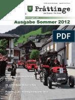 Tuxer Prattinge Ausgabe Sommer 2012