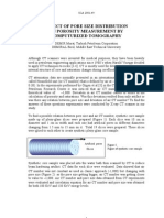 EFFECT OF PORE SIZE DISTRIBUTION ON POROSITY MEASUREMENT BY COMPUTURIZED TOMOGRAPHY