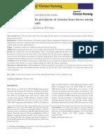 A Qualitative Study of the Perceptions of Coronary Heart Disease Among