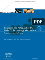 Realizing the Potential of the UNFCCC Technology Mechanism