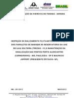 AHRANA_NM-001.2012 (Manutenção sinalização fixa e Inspeção da sinalização flutuante do Trecho-IV)