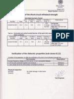 CPRI Type Test Reports