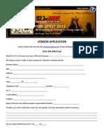 Forgefest 2012 Vendor Application