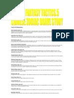 Final Fantasy Tactics 5