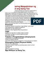 Paano Maaaring Maapektuhan Ng Pagsusugal Ang Isang Tao
