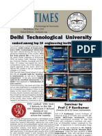 DTU Times (May Edition)