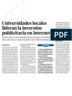 Universidades Peru apuestan marketing Internet