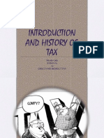 History of Tax