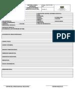 CEX-FO-323-009 Anexo Historia Clinica Urgencia Odontologica