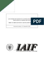 Los Centros Tecnologicos y El Sistema Regional de La Innovacion El Caso Del Pais Vasco