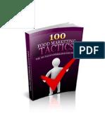 100 Food Marketing Tactics