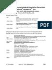 2012 PA Convention Tentative Program