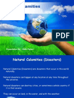 Natural Calamities