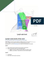 Lymph Node Levels of the Nec1