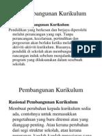 2. Pembangunan Kurikulum