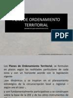 Presentación GUIA Plan de Ordenamiento Territorial