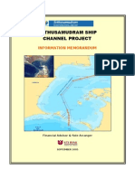 Sethusamudram Shipping Channel Project