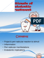 Rationale of Endodontic Treatment
