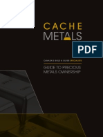 Cache Metals Guide to Precious Metals Ownership