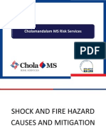 Shock and Fire Hazard