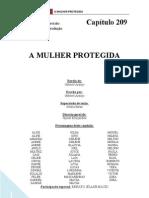 A Mulher Protegida - Capitulo 209 - Roteiro