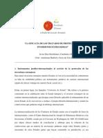 Tratados y Convenios Eficacia de Los Tratados de Proteccion de Inversiones Extranjeras