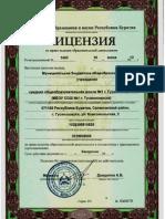 Лицензия от 18.06.12