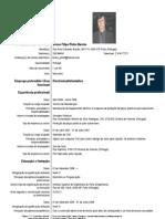 Europass Curriculum Vitae Bruno Pinho