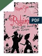 Kerstin Gier - Rubinrot
