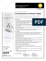 Texas Jobs Snapshot - September 2011