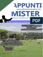 Gli Appunti Del Mister - Numero 6