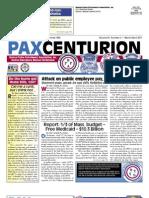 Pax Centurion - March/April 2011