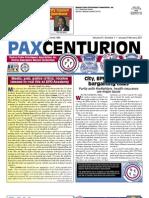 Pax Centurion - January/February 2011