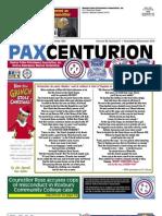 Pax Centurion - November/December 2010