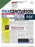 Pax Centurion - March/April 2010