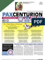 Pax Centurion - November/December 2009
